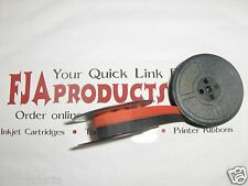 Hermes Baby 1000 Typewriter Ribbon (Red-Black) Typewriter Ribbon FREE SHIPPING