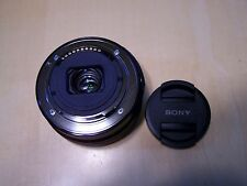 AS-IS Sony SEL 16-50mm f/3.5-5.6 OSS Lens for parts or repaire black