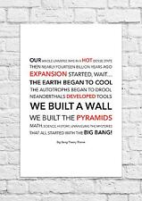 The Big Bang Theory Theme - Barenaked Ladies - Song Lyric Art Poster - A4 Size