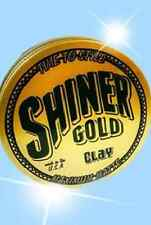 Shiner Gold Matte Clay 4 Oz Pomade Wax Gel Hair Styling Barber USA NEW