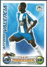 TOPPS MATCH ATTAX 2008-09-WIGAN ATHLETIC & ECUADOR-ANTONIO VALENCIA