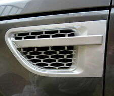 Silver 2010 Style side vents for Range Rover Sport/HST 2005-2009 autobiography