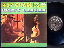 RAY CHARLES And BETTY CARTER LP ABC-PARAMOUNT 385 US 1961 MONO Marty Paich