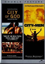 NEW DOUBLE FEATURE DVD // CITY OF GOD & CITY OF MEN //