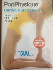 NEW POPPHYSIQUE POP PHYSIQUE CARDIO BUTT SCHOOL DVD BARRE WORKOUT
