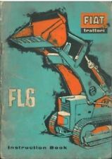 Fiat Crawler Tractor FL6 Operators Manual