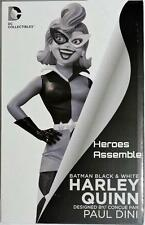 BATMAN BLACK WHITE HARLEY QUINN STATUE FIGURINE PAUL DINI 1ST EDITION DC DIRECT