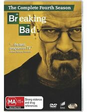 BREAKING BAD - THE COMPLETE FOURTH SEASON 4DISC-SET, Region: 4