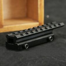 Dovetail 11mm to 20mm Extension Weaver Picatinny Rail Scope Mount Adapter Base