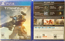 Titanfall 2: Deluxe Edition (Sony PlayStation 4, 2016) - FAST SHIP