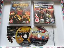 2 x Playstation 3 / PS3 Games - Duke Nukem Forever & Mass Effect 2 - Action