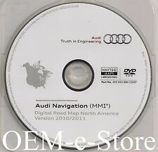2009 to 2012 Audi A4 Avant Wagon Sedan Navigation DVD Map VER.2010-2011 Update