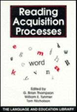 Reading Acquisition Processes (The Language and Education Library), , , Good, 19