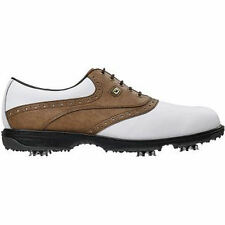 FootJoy Mens Hydrolite Golf Shoes #50022 - White / Taupe - UK 9.5 M 2015