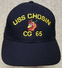 Embroidered Baseball Cap Military Navy USS Chosin NEW 1 hat size fits all