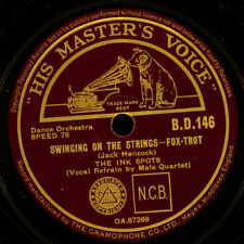 THE INK SPOTS  Swinging on the strings / Your feet's too big   Schellack   S6655