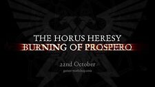 Warhammer 30K: Horus Heresy: Burning of Prospero: Boxed Game No Miniatures