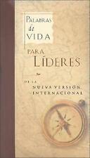 Palabras de Vida para Líderes by Zondervan Publishing Staff (2001, Hardcover)