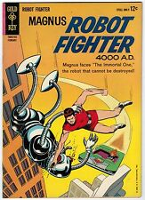 MAGNUS ROBOT FIGHTER #5 7.0 OFF-WHITE TO WHITE PAGES SILVER AGE
