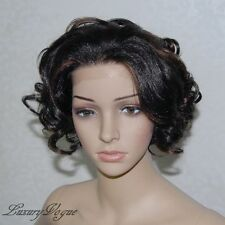 Handsewn Perruque FULL LACE FRONT Ryhanna Wig 9124#1B30