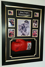 *** Rare MIke Tyson SIGNED Boxing GLOVE Autograph Display ***