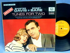 LP SKEETER DAVIS & BOBBY BARE - TUNES FOR TWO // GERMAN ORANGE RCA