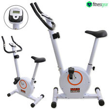 Magnetic Exercise Bike Cycle Fitness 8 Level Cardio Workout Trainer Machine Home