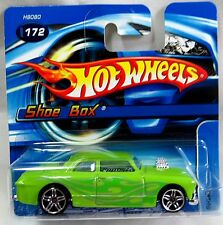 2005 Hot Wheels SHOE BOX Short Card