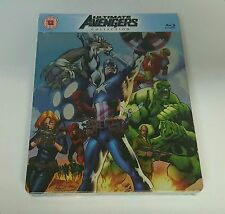 ULTIMATE AVENGERS COLLECTION Blu-ray STEELBOOK [U.K.] ZAVVI -BRAND NEW - OOS/OOP
