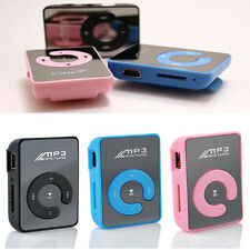 Fit 8GB SD/TF Card Portable Mini Clip Mp3 Music Player USB Digital Randomly