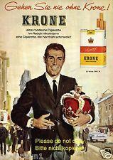 Krone Zigaretten Reklame von 1964 Gedächtniskirche Berlin Kurfürstendamm Raucher