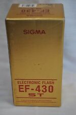 Sigma EF-430 ST Electronic Flash for Nikon AF