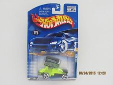 Hot Wheels 2001 SLIDE OUT AUSTIN CURTIS RACING GREEN WBC CARS BB-YW