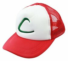 Cosplay   Pokemon Ash Ketchum Hat   Baseball Cap Red Costume Party Gift