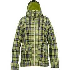 Burton Method Snowboard Jacket (M) Aloe Gypsy Plaid