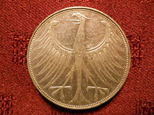Germany - Federal Republic 5 Mark, 1971 G silver coin Karlsruhe Mint
