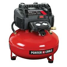 PORTER-CABLE C2002 6 Gal. 150 PSI Portable Air Compressor ! Brand new !