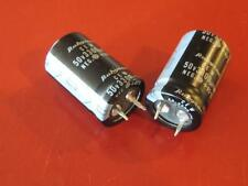Rubycon 3300uF 85c 3300 uF 50v CEW Snap-in Capacitors ( Qty 2 ) *** NEW ***