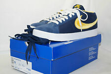 NIKE BLAZER SB CS 2009 Gr.42,5 UK.8 NAVY BLAUE MAIZE YELLOW 395771 400 Rarrrrr