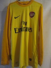 Arsenal 2009-2010 Goalkeeper Football Shirt Size Medium /14965