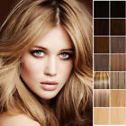 18 Inch Premium Clip In Remy Human Hair Extensions Full Head Any Colour Long UK