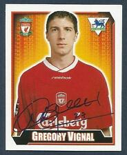 MERLIN 2003-FA PREMIER LEAGUE-10TH EDITION- #311-LIVERPOOL-GREGORY VIGNAL