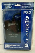 Multiplayer Tap for PS2 Dragon Plus Second Generation Accessories New Sealed