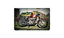 1970 t120r Bike Motorcycle A4 Photo Poster