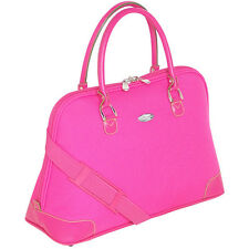 Pierre Cardin NWT Boarding Tote Travel Bag Hot Pink Bright Large Getaway CHIC