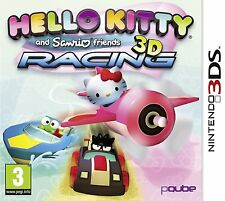 Nintendo 3DS Spiel  Hello Kitty und Sanrio Friends 3D Racing 2DS kompat. NEUWARE