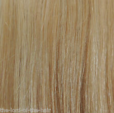 "AMERICAN DREAM QUICK FIX CLIP 12""WEFT HAIR EXTENSIONS C59 BRIGHT BLONDE 18"""