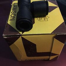 """Lawson Legris Industrial Push-to-Connect Fitting LF3000 Union Tee 1/2"""" 86788"""