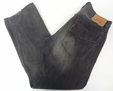 Levis Mens 514 Slim Straight Gray Jeans 33x30 33/30 FREE SHIPPING 510
