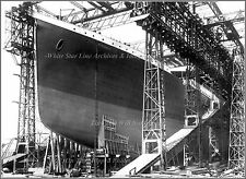 Photo: Titanic's Bow On Launch Day At Harland & Wolff Shipyard, May 30, 1911
